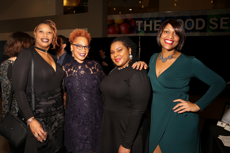 From left, Tjuan Woods, Michelle Cameron, Charlene Traylor and Bentoya Curry.{&amp;nbsp;} (Amanda Andrade-Rhoades/DC Refined)<p></p>