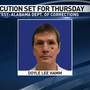 Cullman County murderer's execution set for Thursday