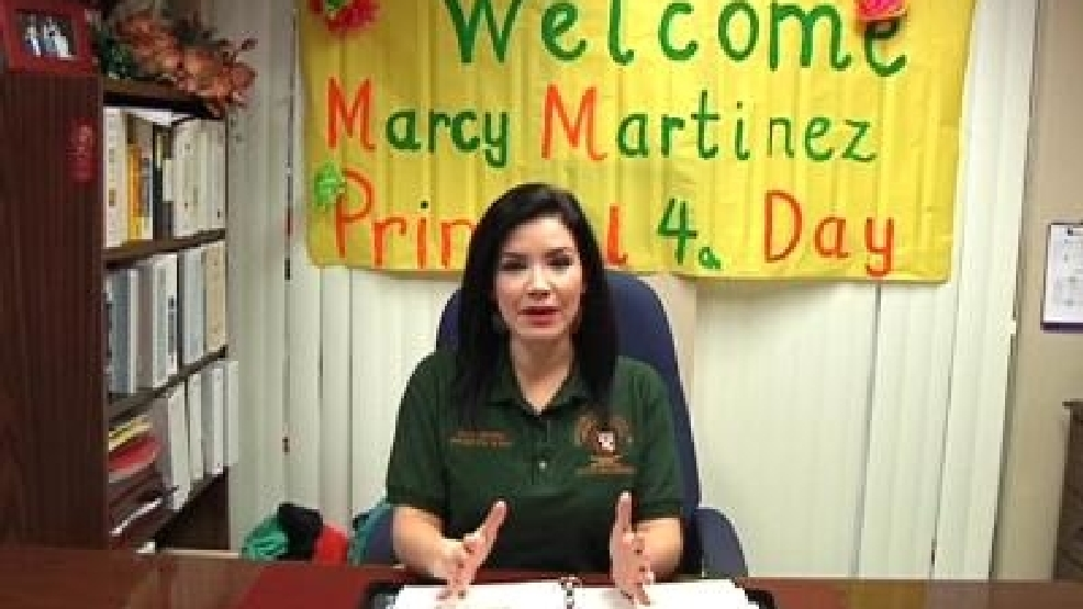 marcy martinez principal for a day kgbt