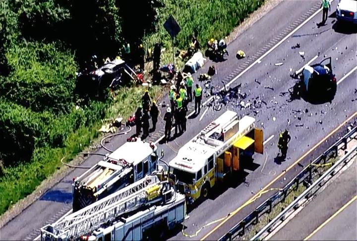 A fatal accident was reported on US-50 in Annapolis on Wednesday afternoon.