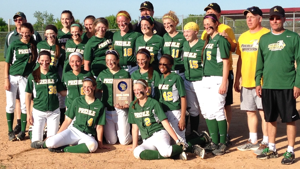 Green Bay Preble beat Appleton, 2-1, Thursday to win a Division 1 regional final. (Doug Ritchay/WLUK)