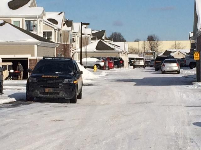 Police and SWAT are at the scene of a hostage situation in Liberty Township Saturday morning. (WKRC)