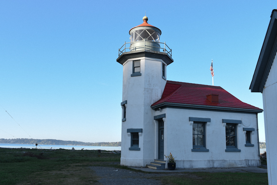 No visit to Vashon Island is complete without a walk along the beach at the Port Robinson Lighthouse (Image: Rebecca Mongrain/Seattle Refined)