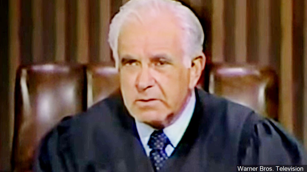 Judge Joseph Wapner, who was also a television personality, died Feb. 26, 2017. He was 97. (Warner Bros. Television/MGN Online)<p></p>