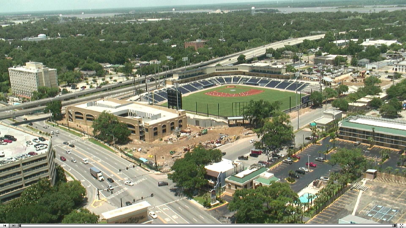 Biloxi stadium construction