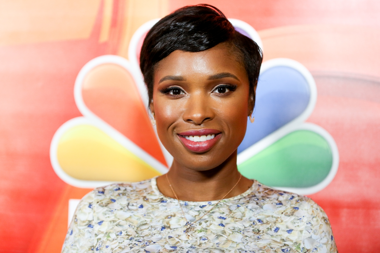 "Jennifer Hudson, a cast member in the television special ""Hairspray Live!,"" arrives at the NBCUniversal Television Critics Association summer press tour on Tuesday, Aug. 2, 2016, in Beverly Hills, Calif. (Photo by Rich Fury/Invision/AP)"