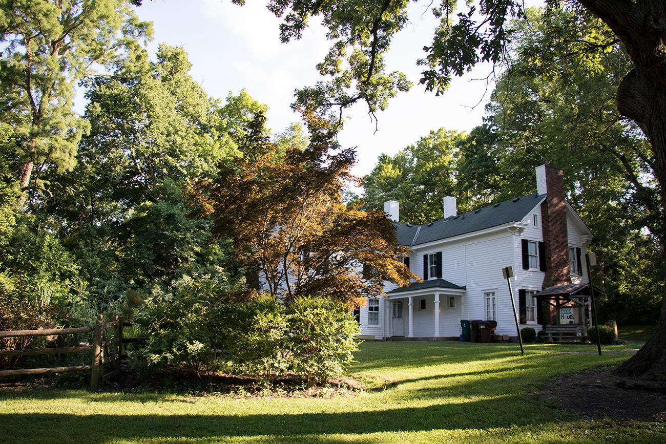 Lindner Park at the McCullough Estate is tucked away between Norwood and Pleasant Ridge. The park offers walking trails and views of interesting historical structures, such as one of the city's first privately owned swimming pools. The Norwood Historical Society holds meetings at the McCullough home and the Drake Planetarium hosts outdoor learning labs at the park for schools and groups. ADDRESS: 2726 Cypress Way (45212) / Image: Allison McAdams // Published: 7.22.18