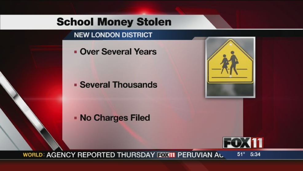New London School District worker accused of stealing money