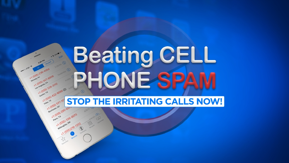 how to stop unwanted calls on cell phone