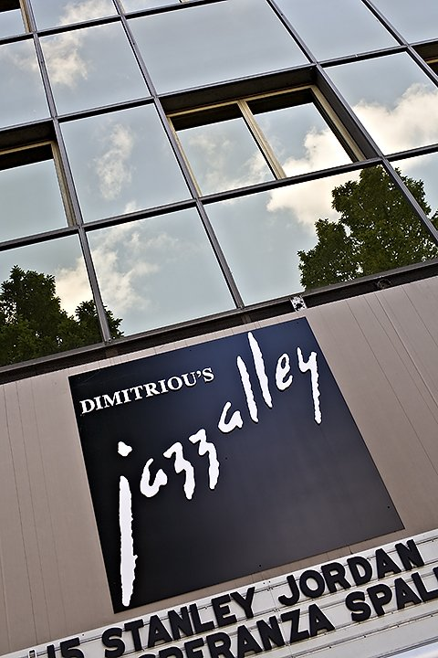 Dimitriou went on to open Jazz Alley in the U-District in 1979, where he says it ran on a shoestring budget. (Courtesy: Dimitriou's Jazz Alley)