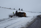Snow plow crash on I-84 - Oregon State Police photo - 2.jpg