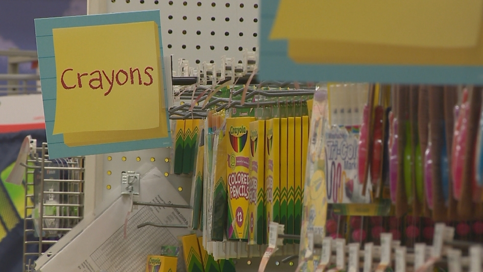 FOX 11's Kelly Schlicht walks the school supply aisles with a veteran teacher to see what's needed for class nowadays.