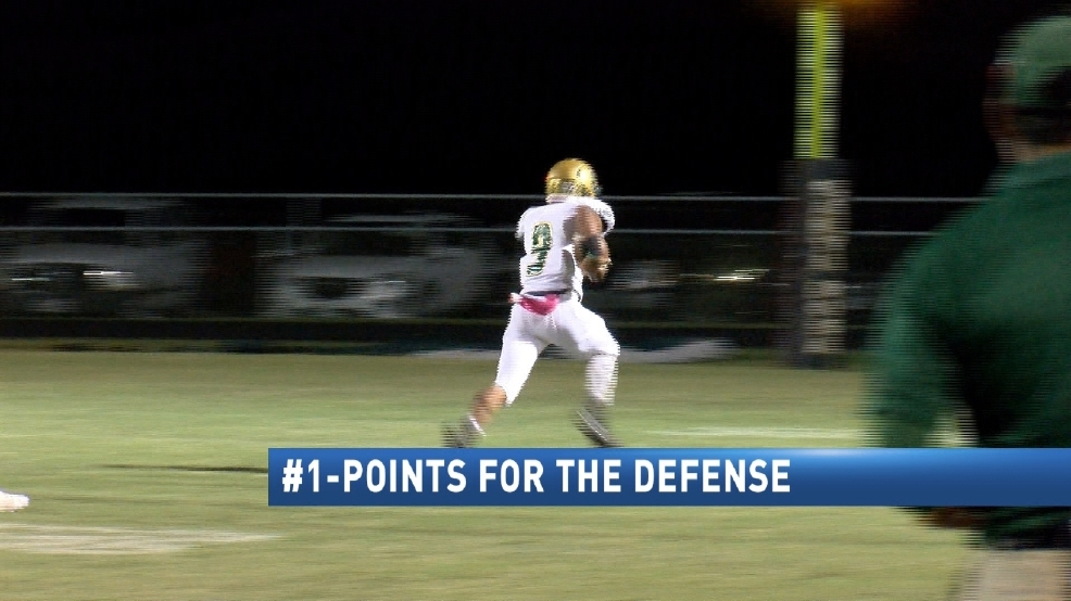 CBS 4 Top 4 Plays Of The Week: 10-24-16