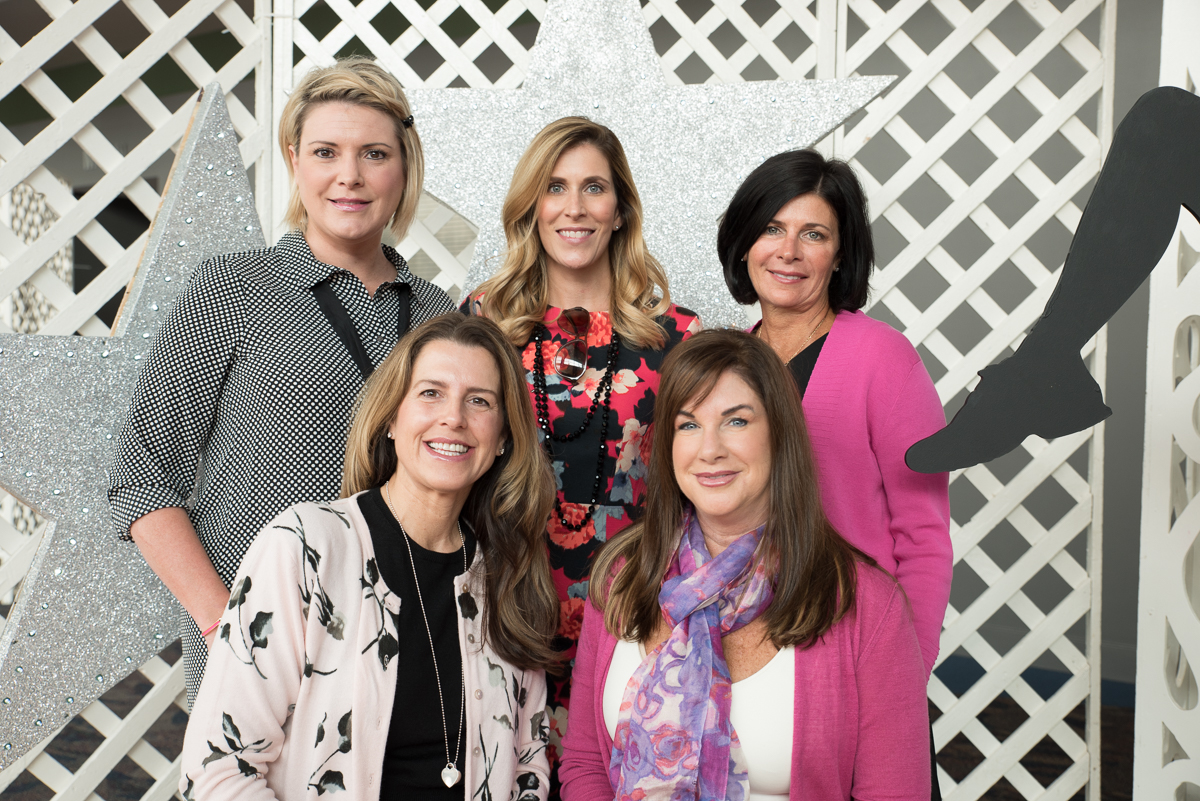 Dana Marsh, Rachel Massa, Kirsten Macke, Marybeth Hoover, and Lisa Kirn / Image: Sherry Lachelle Photography