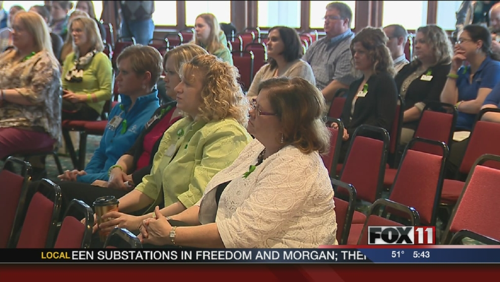 Mental Health Awareness Month event in Appleton