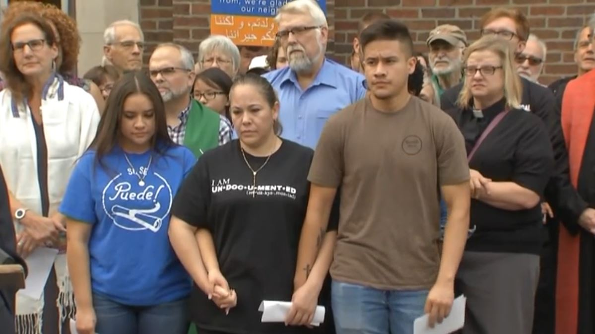 Woman moves into Ohio church to avoid being deported to Mexico (WCMH via CNN Newsource)