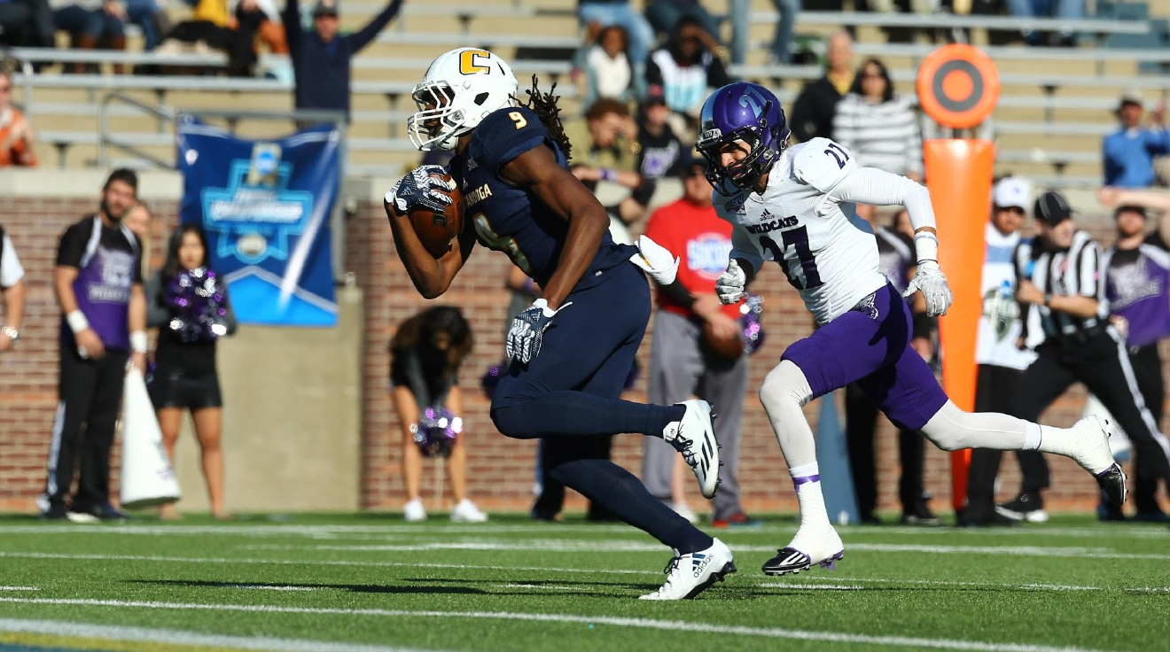 Chattanooga advanced to the second round of the FCS playoffs. (Photo courtesy UTC Athletics)