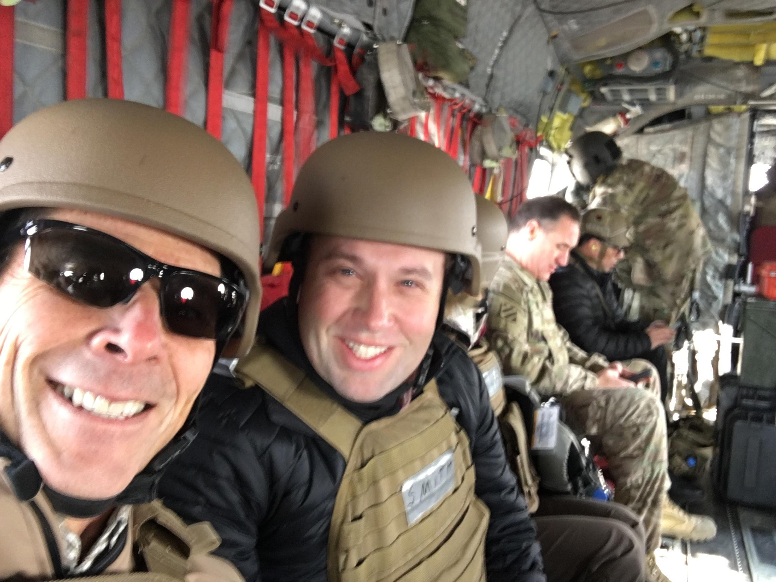 <p>Rep. John Curtis is back in Utah after a visit to the Middle East where he thanked the troops and learned more about the difficulties they're facing in the region. (Photo courtesy of Rep. John Curtis){&nbsp;}</p>