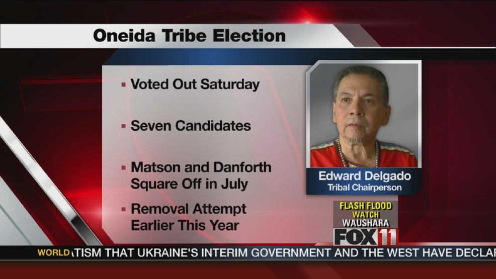 Oneida chairman ousted in 7-way primary election