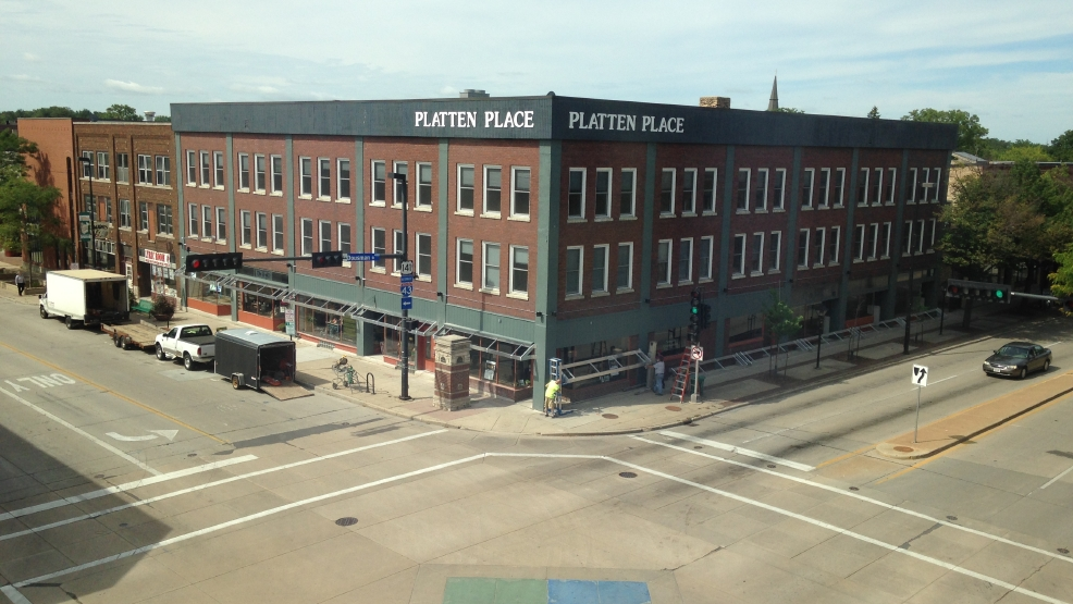 Platten Place in downtown Green Bay, Aug. 26, 2014. (WLUK/Eric Peterson)