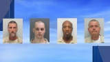 Authorities: 4 inmates found dead at a South Carolina prison