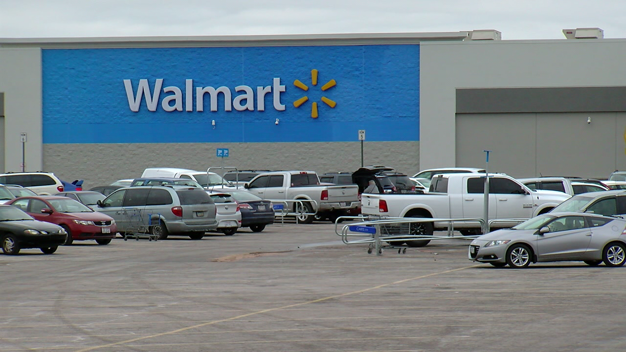 Police are investigating after someone was shot at a Walmart in Fairfield Township. (WKRC)