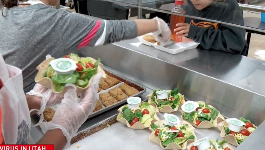 The U.S. Department of Agriculture is extending its flexibilities through Dec. 31, allowing schools to continue their summer meal programs by serving free meals to all children. (Photo: KUTV)