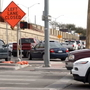 Ongoing braided ramp project in east El Paso causes more traffic backup than expected
