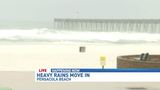Dangerous surf conditions on Pensacola Beach