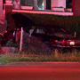 Car hits home in Covington