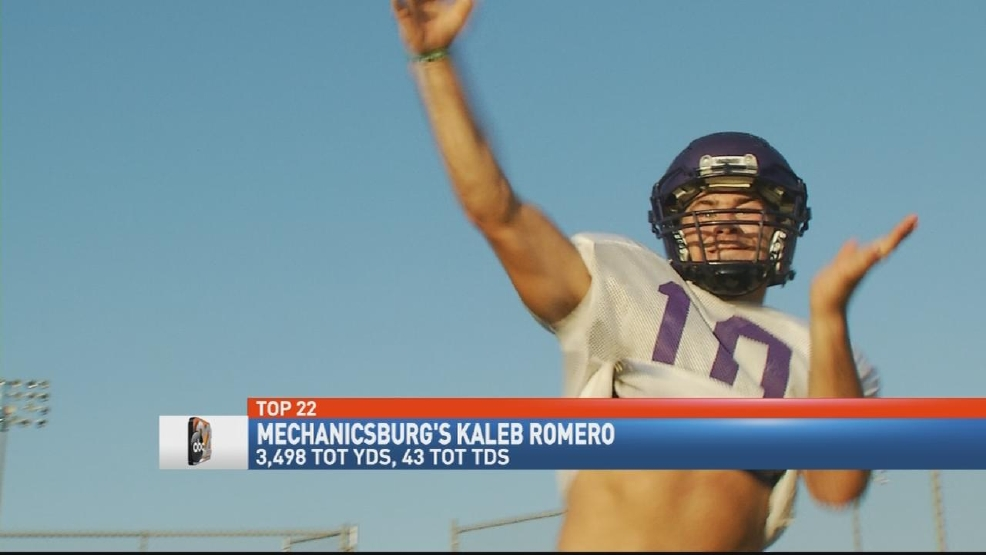 Top 22 - 2016: Mechanicsburg's Kaleb Romero