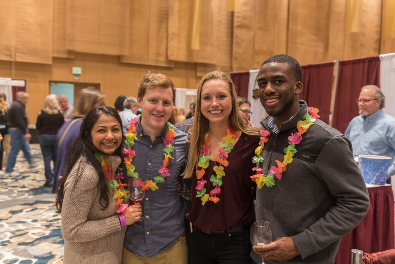 Kruti Gandhi, Ryan Welch, Lauren Hoff, and Andre Elkins{ }/ Image: Mike Menke // Published: 3.10.19