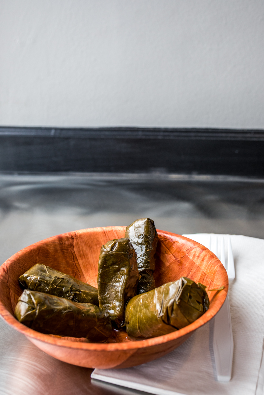 Grape leaves / Image: Catherine Viox{ }// Published: 1.26.20