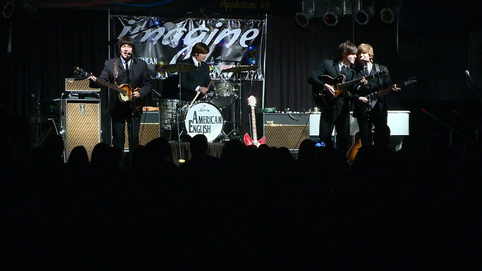 Beatles cover band American English in Appleton