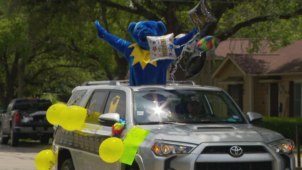 From surprise graduation parades to backyard proms, San Antonians are getting by