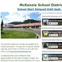 McKenzie School District closed until September 11