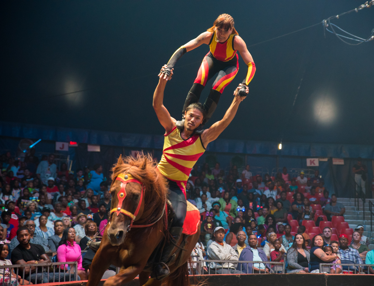 "The Universoul Circus' ""We Are ONE 25th Anniversary Tour"" is a show that spans the globe. Its mission is to inspire with multicultural performances and a message of unity. The stunning acrobatics don't hurt either! Performances run through September 3. ADDRESS: 2250 E. Seymour Avenue (45212) / Image: Sherry Lachelle Photography // Published: 8.28.18<p></p>"