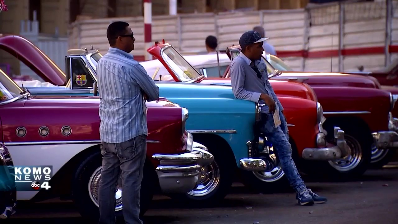 KOMO News visited Cuba in January (KOMO Photo)