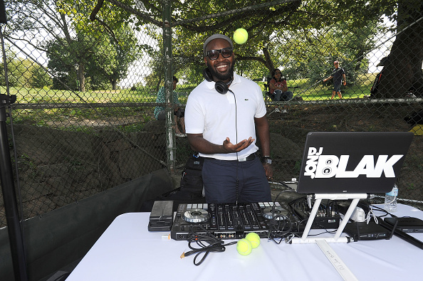 NEW YORK, NY - AUGUST 27: DJ Jon Black attends the LACOSTE And City Parks Foundation Host Tennis Clinic In Central Park on August 27, 2017 in New York City.  (Photo by Brad Barket/Getty Images for LACOSTE)