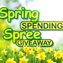 Spring Spending Spree Giveaway