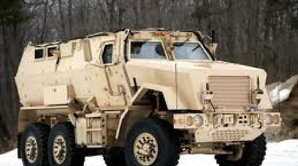 The Appleton Police Dept. and Outagamie Co. Sheriff's Dept. say they are receiving a heavy-duty vehicle similar to this one through a military program. (Courtesy: Appleton P.D.)