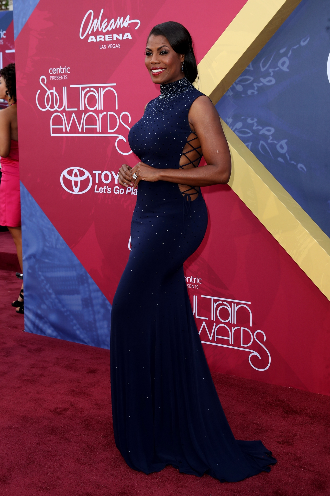 Soul Train Awards 2016 Red Carpet Arrivals at The Orleans Arena in Las Vegas                                    Featuring: Omarosa                  Where: Las Vegas, Nevada, United States                  When: 07 Nov 2016                  Credit: Judy Eddy/WENN.com