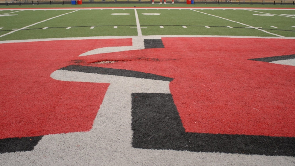 Kimberly football field vandalized