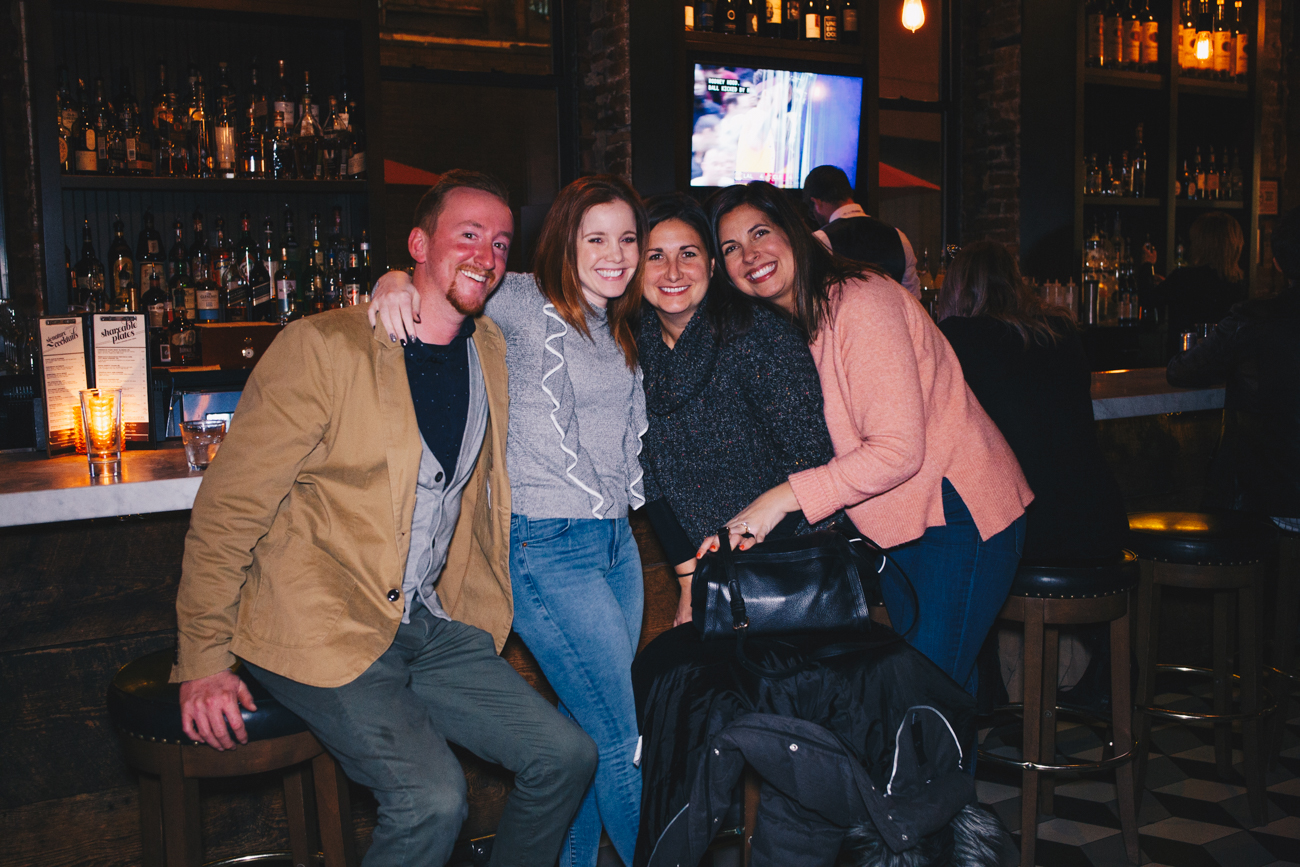 Nikki Benton, Drew and Claire Bryant, and Katie Pommert at Igby's / Image: Catherine Viox // Published: 11.22.18