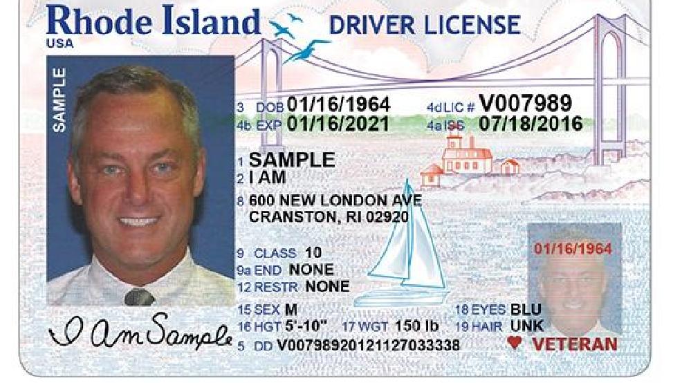 Ri Dmv To Issue New Driver S License Wjar
