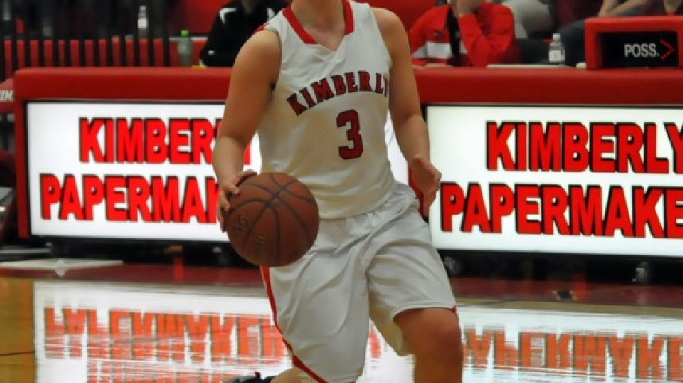 Kimberly's Frankie Wurtz gave a verbal commitment to Green Bay. (Doug Ritchay/WLUK)