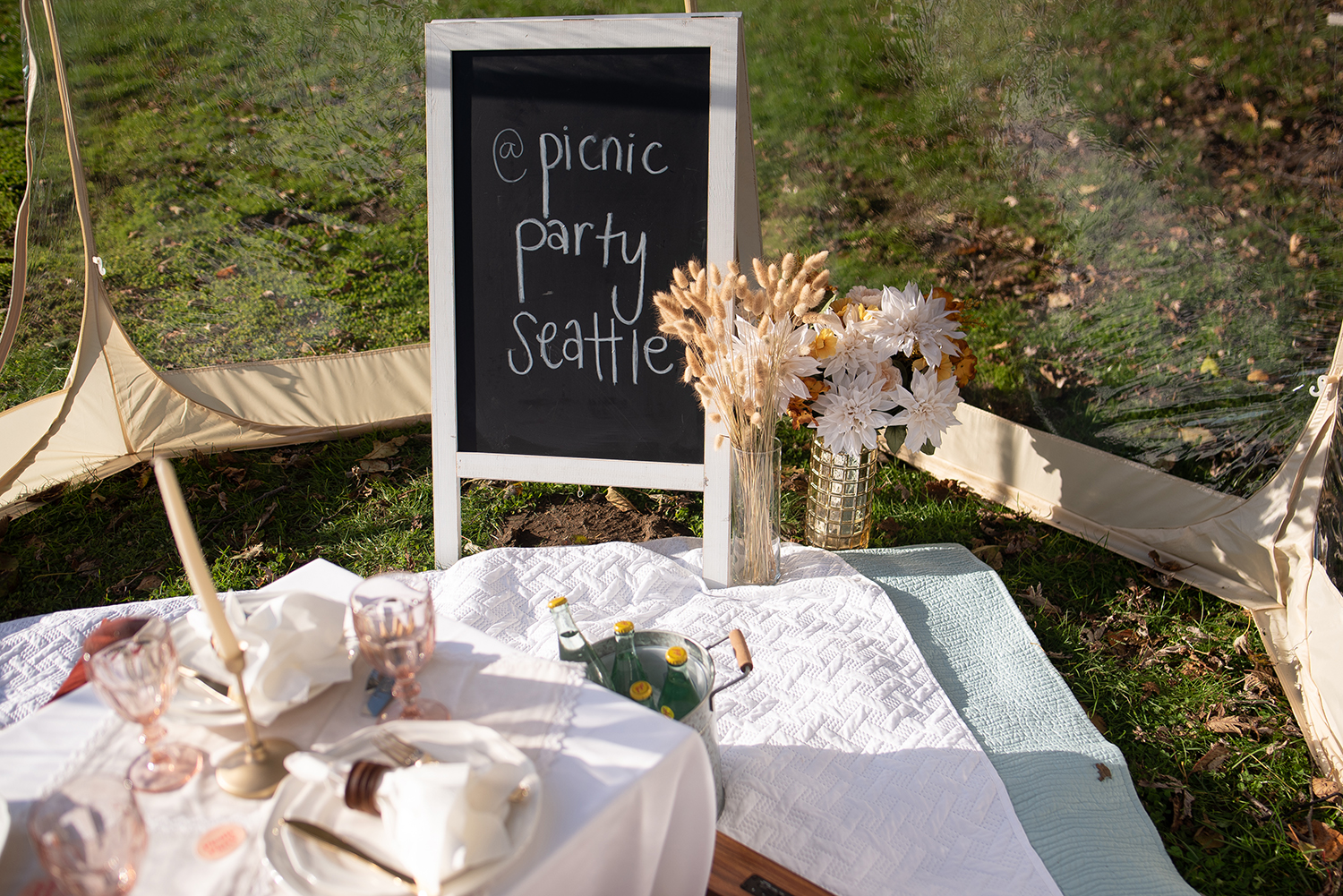 "Started by Hannah Fuchigami as a passion project,{&nbsp;}<a  href=""https://www.rhubarbco.com/picnic-party-seattle"" target=""_blank"" title=""https://www.rhubarbco.com/picnic-party-seattle"">Picnic Party</a>{&nbsp;}is a way to build community and relationships in the Seattle/ Eastside area and is even more valuable and important when pandemic hit, giving people a way to STILL celebrate special occasions. You choose the destination and they set up the picnic in all weather conditions. A picnic comes with decor, music, blankets and gorgeous tablescape, chalk sign with custom message for two people. You can add on food display, drinks, a bubble tent, or pickup from your favorite restaurant. Picnics start at $220, additional people are $20. More info{&nbsp;}<a  href=""https://www.rhubarbco.com/picnic-party-seattle"" target=""_blank"" title=""https://www.rhubarbco.com/picnic-party-seattle"">online</a>. (Image: Tash Haynes / Seattle Refined){&nbsp;}"