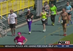 Cellcom Runners take lap around City Stadium
