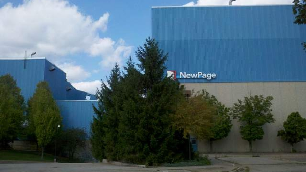 Former NewPage paper mill in Kimberly (file photo)